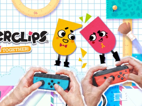 Snipperclips review – cutting edge co-op