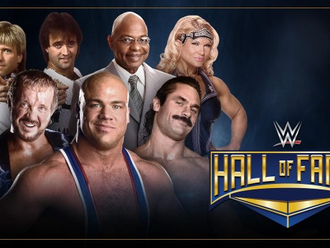 From Kurt Angle to DDP: Who is being inducted into the WWE Hall of Fame tonight?