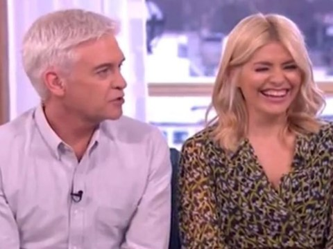 Phillip Schofield jokes he's banned Holly Willoughby from getting pregnant again – but it's not funny