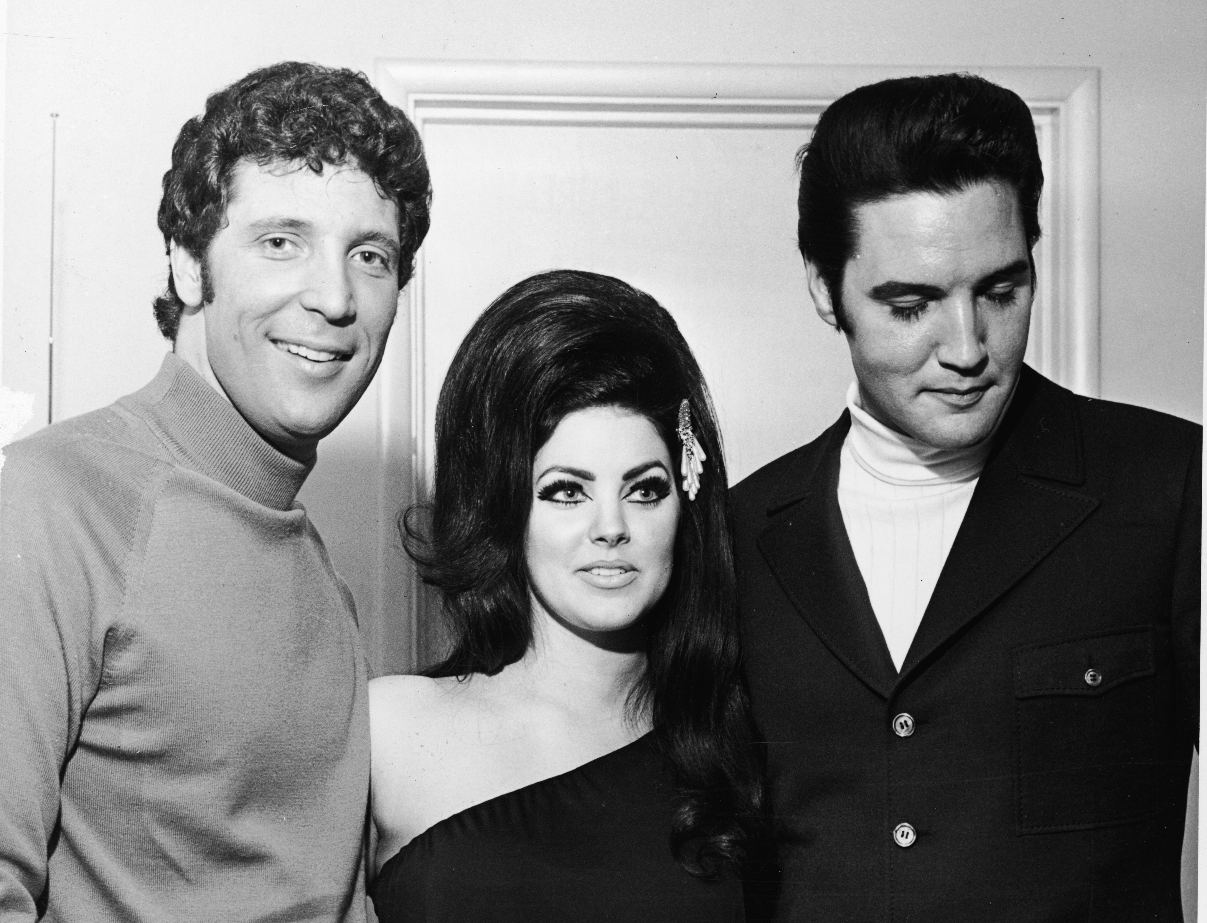 Sir Tom Jones thinks Elvis would be all shook up over Priscilla Presley dating rumours