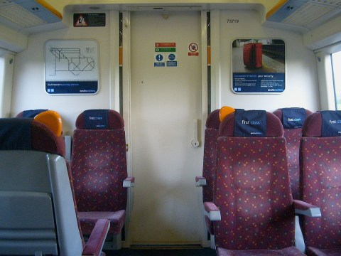 First class could be scrapped from commuter trains