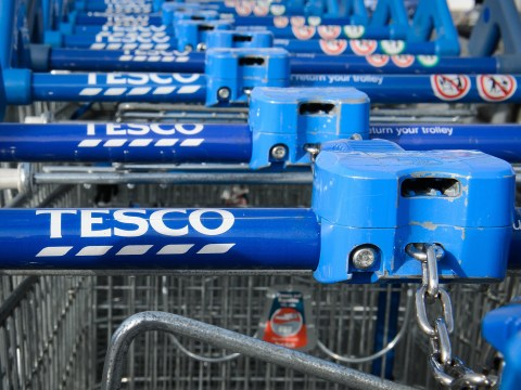 Tesco have unlocked trolleys to be upgraded for the new 12-sided £1 coin
