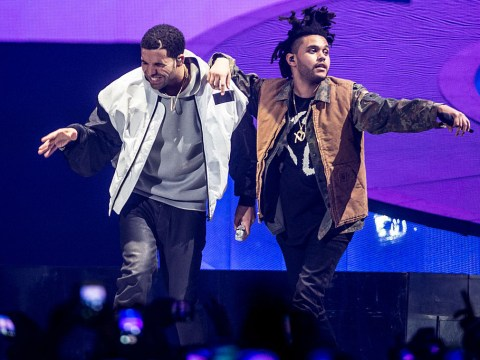 The Weeknd surprised his London fans by bringing out Drake