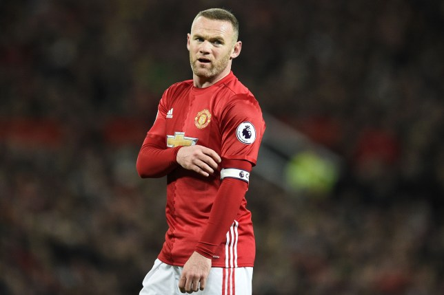 Manchester United's English striker Wayne Rooney is pictured during the English Premier League football match between Manchester United and Liverpool at Old Trafford in Manchester, north west England, on January 15, 2017. / AFP / Oli SCARFF / RESTRICTED TO EDITORIAL USE. No use with unauthorized audio, video, data, fixture lists, club/league logos or 'live' services. Online in-match use limited to 75 images, no video emulation. No use in betting, games or single club/league/player publications.  /         (Photo credit should read OLI SCARFF/AFP/Getty Images)