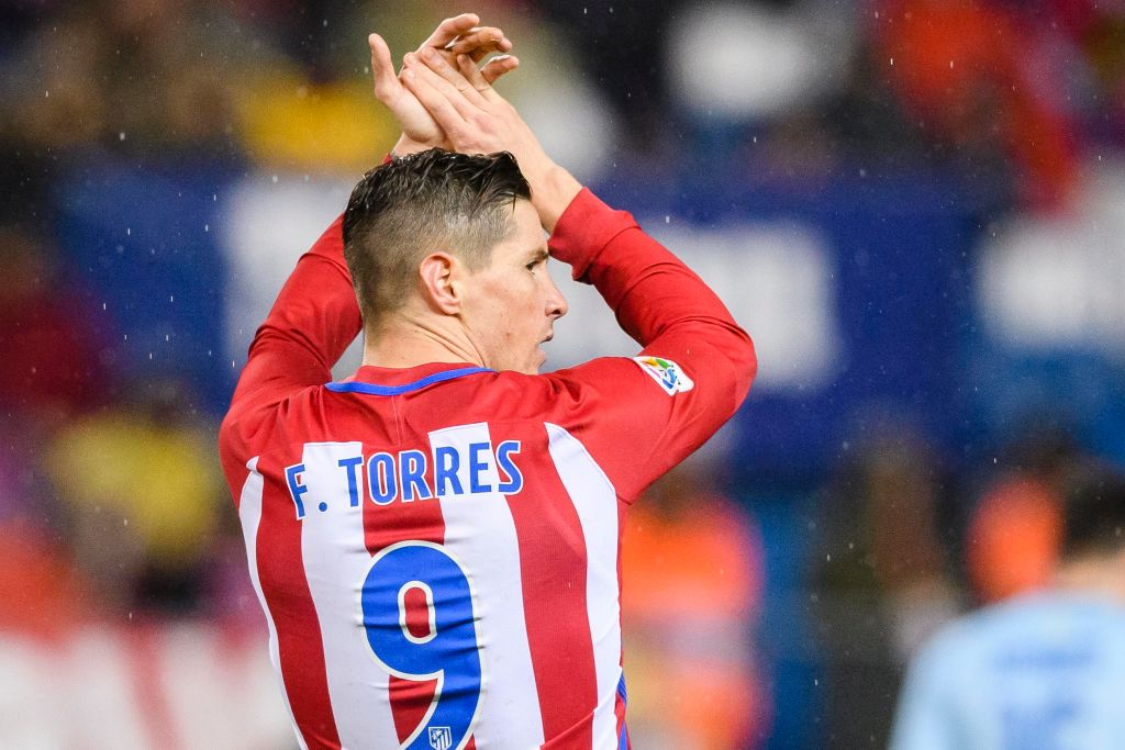 Fernando Torres makes first appearance for Atletico Madrid since head injury