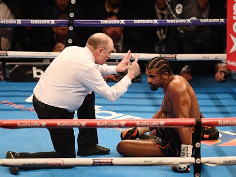 David Haye released from hospital after doctors opt against surgery on Achilles injury