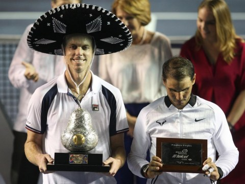 Rafael Nadal in shock defeat to Sam Querrey in the Mexican Open final