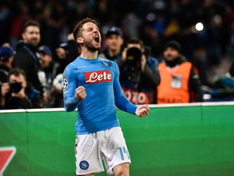 Premier League target Dries Mertens holds two-hour meeting in hotel with Manchester officials