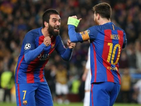 Barcelona star Arda Turan Arsenal's No.1 target to replace Mesut Ozil