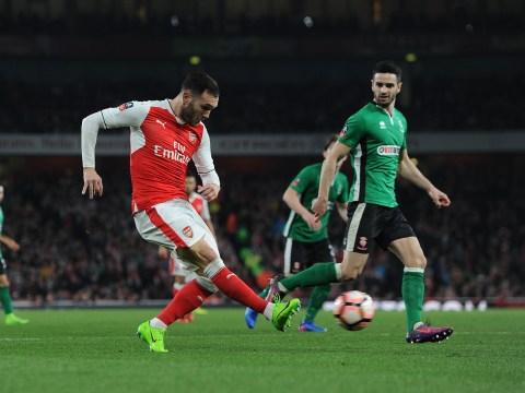 Arsenal receive West Ham enquiry over Lucas Perez transfer