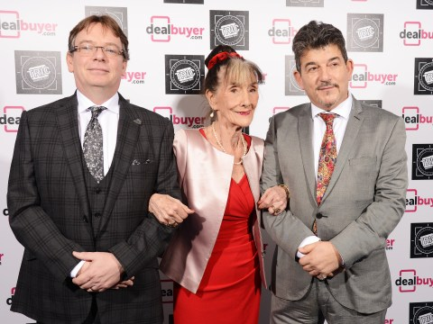 EastEnders star June Brown wins big at the Tric Awards as soap stars pay tribute