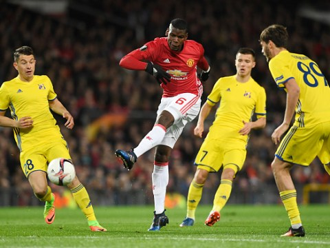 Paul Pogba could be out for weeks after hurting hamstring during Man Utd v Rostov – and Daley Blind injured too!