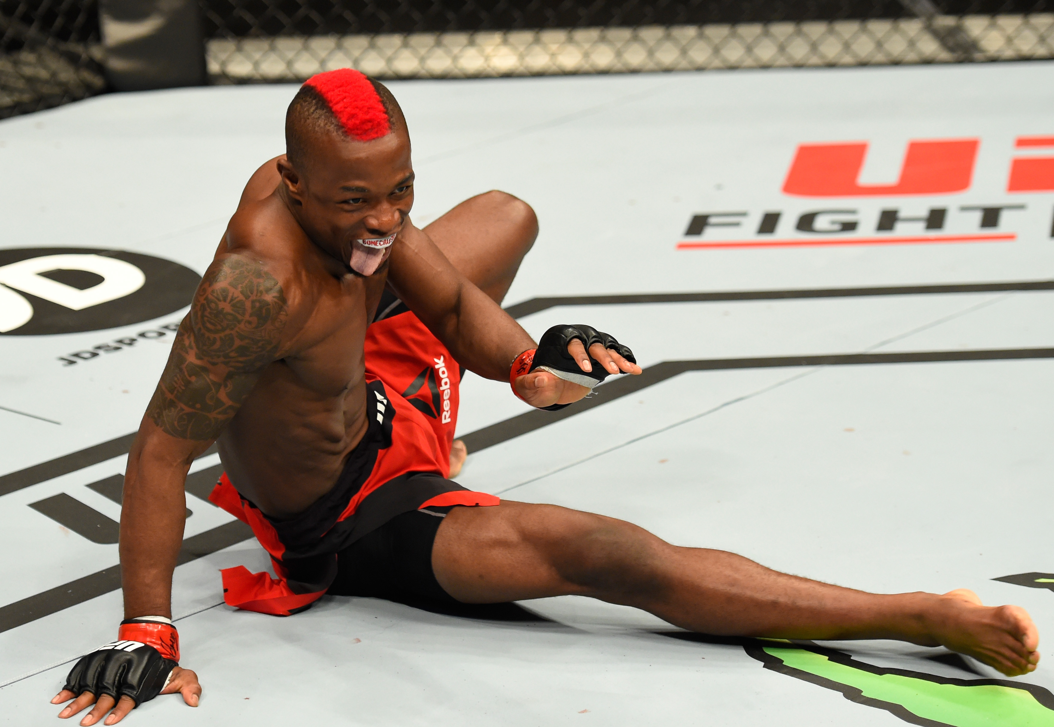 Marc Diakiese reveals UFC bosses were buzzing after his 'Matrix kicks' in London