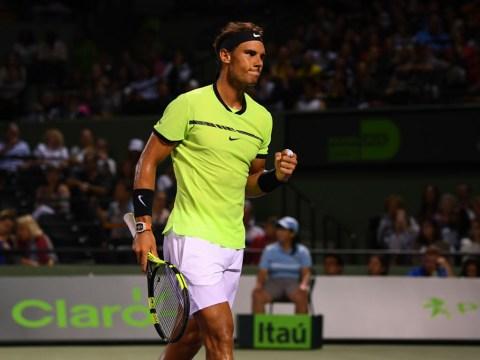 Miami Open 2017 results: Rafael Nadal sets up Fabio Fognini semi-final as Kei Nishikori is dumped out
