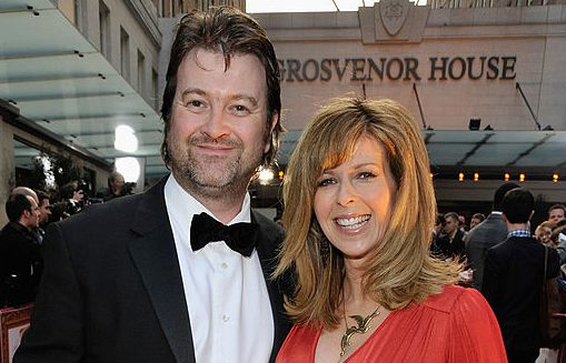 LONDON - APRIL 03: TV Presenter Kate Garraway and husband Derek Draper arrives at the Galaxy British Book Awards at Grosvenor House on April 3, 2009 in London, England. (Photo by Jon Furniss/WireImage)