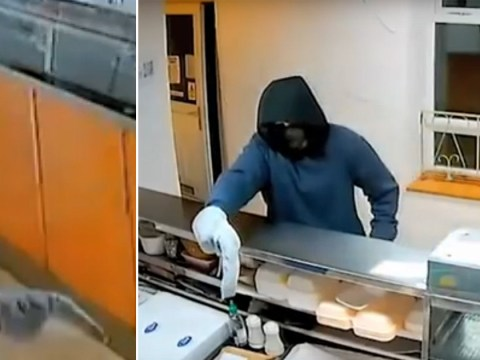 Man tried to rob a fish and chip shop with a banana