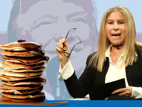 Barbra Streisand says Donald Trump is 'making her fat' when she watches him on the news
