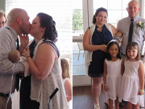 Parents marry in hospice to include their dying newborn baby boy