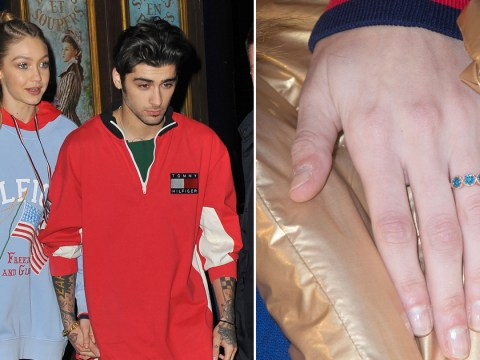 Gigi Hadid and Zayn Malik fuel engagement rumours further with Gigi's new bling