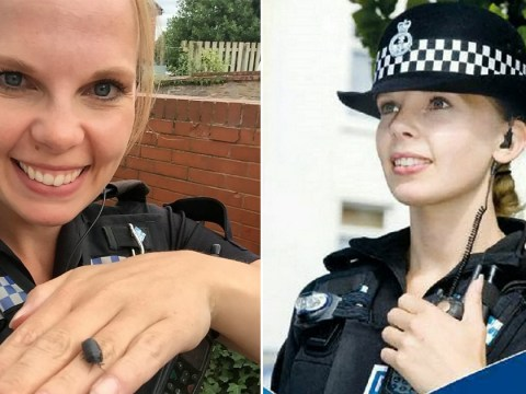 Police 'poster girl' writes damning open letter about government cuts as she quits force