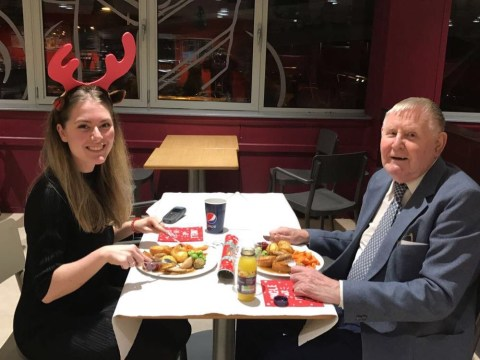 Sainsbury's worker takes elderly man out on date after finding out he's all alone