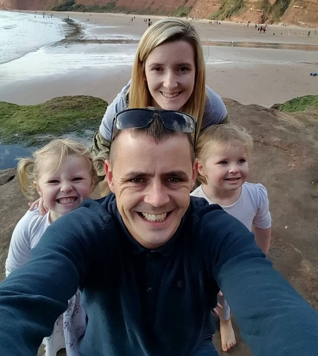 Ivie and her twin sister Grace with their Mum and Dad, Scarlett and Gavin Boulton. A little girl who was waiting for a heart transplant after coming down with a rare form of flu has died in her mother's arms. Three-year-old Ivie Boulton was first taken ill on January 24, after being sick a number of times overnight. Her parents, Scarlett and Gavin, took the little toddler from Yate to her GP, but was later rushed to Bristol Children's Hospital. Tests revealed the seriousness of her condition, and fluid had built up around Ivie's heart. As doctors tried to drain the fluid, little Ivie went into cardiac arrest.