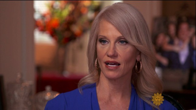 """Kellyanne Conway during an appearance on CBS's 'Sunday Morning. The adviser to President Trump talks about becoming a lightning rod over her defense of """"alternative facts,"""" and a victim of a """"triple standard"""" because of her views as a conservative woman. Featuring: Kellyanne Conway Where: United States When: 06 Mar 2017 Credit: Supplied by WENN.com **WENN does not claim any ownership including but not limited to Copyright, License in attached material. Fees charged by WENN are for WENN's services only, do not, nor are they intended to, convey to the user any ownership of Copyright, License in material. By publishing this material you expressly agree to indemnify, to hold WENN, its directors, shareholders, employees harmless from any loss, claims, damages, demands, expenses (including legal fees), any causes of action, allegation against WENN arising out of, connected in any way with publication of the material.**"""