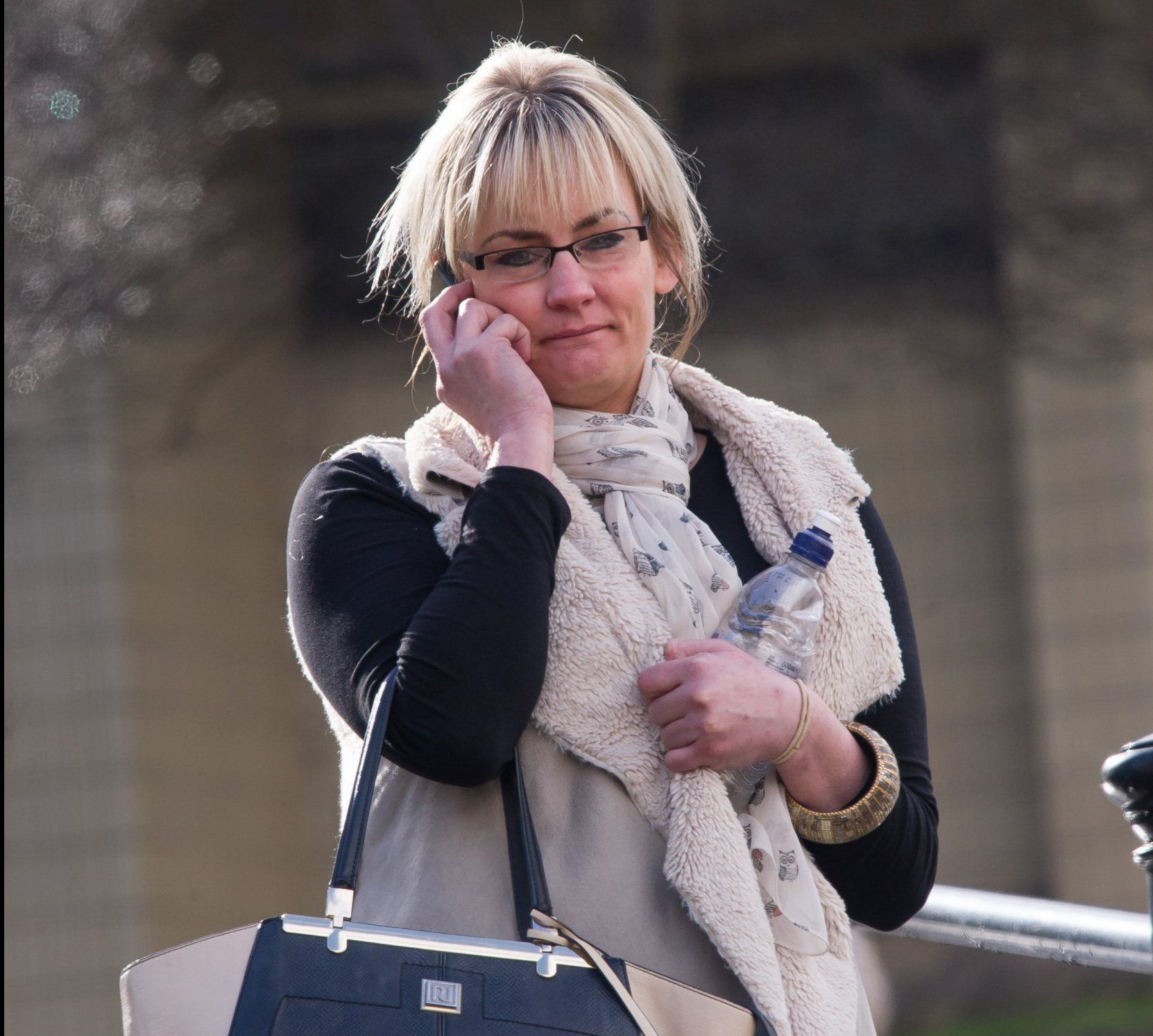 Dawn Walker leaving Burnley Crown Court. Walker repeatedly escaped jail despite carrying 11 drunken attacks on police officers and who has now been convicted of stabbing her boyfriend in the back during another wine-fuelled meltdown Disclaimer: While Cavendish Press (Manchester) Ltd uses its' best endeavours to establish the copyright and authenticity of all pictures supplied, it accepts no liability for any damage, loss or legal action caused by the use of images supplied. The publication of images is solely at your discretion. For terms and conditions see http://www.cavendish-press.co.uk/pages/terms-and-conditions.aspx