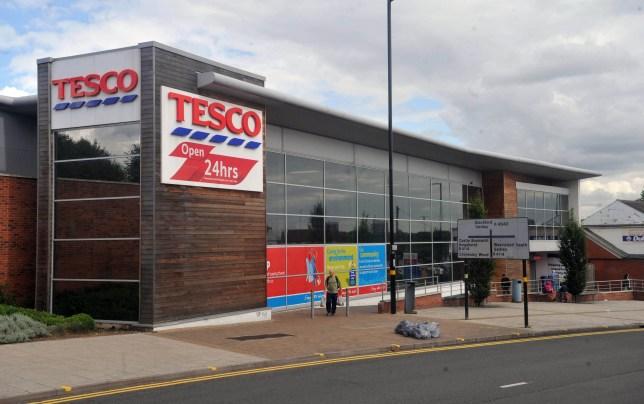 Tesco store on Hodge Hill, Birmingham