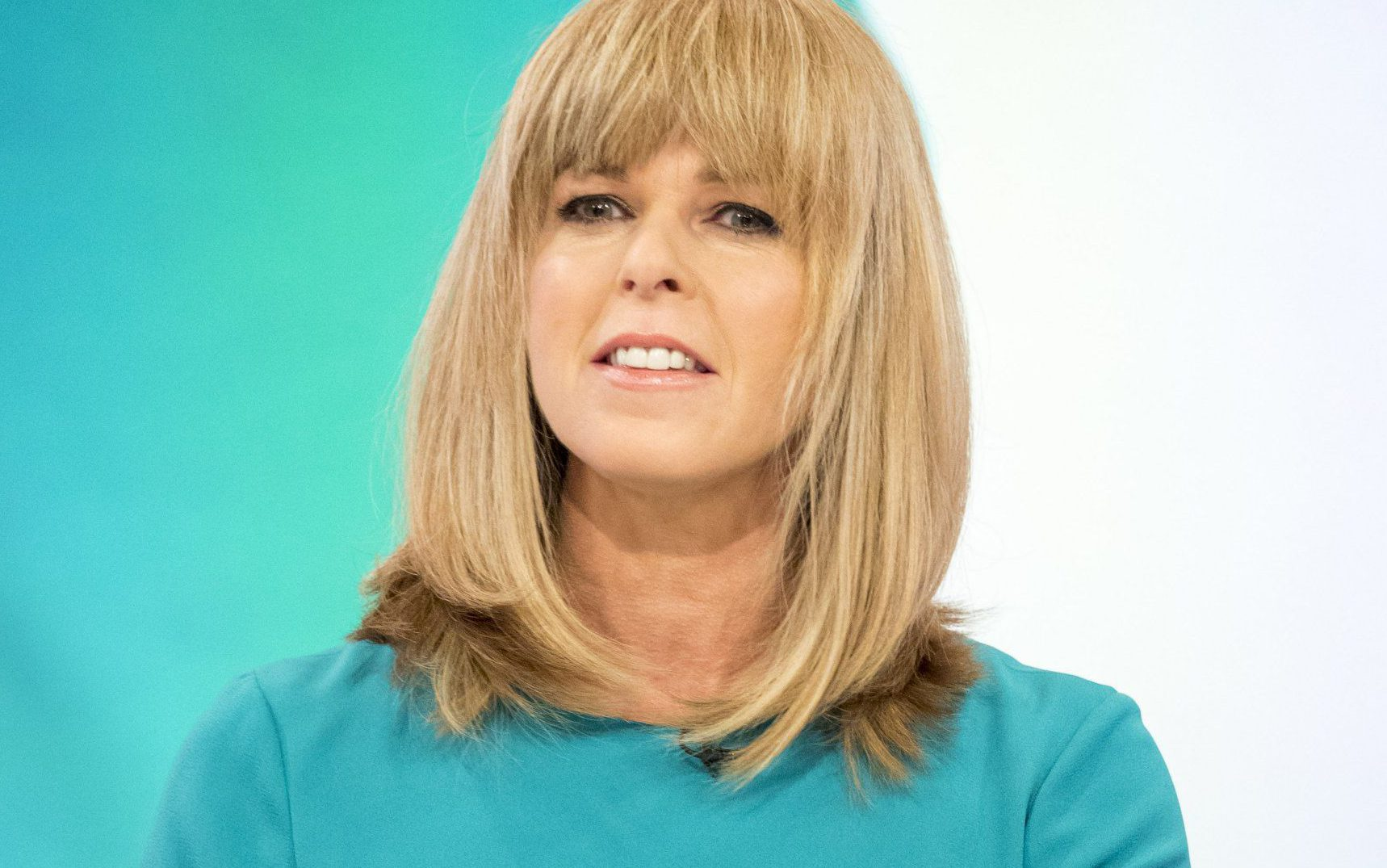 EDITORIAL USE ONLY. NO MERCHANDISING Mandatory Credit: Photo by Ken McKay/ITV/REX/Shutterstock (8470374bw) Kate Garraway 'Loose Women' TV show, London, UK - 06 Mar 2017