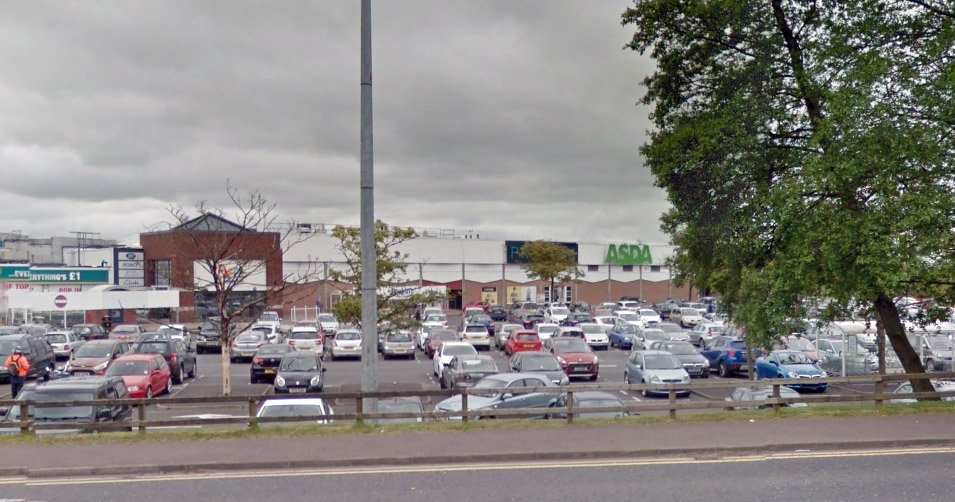 Pensioner attacked lesbian with trolley at Asda for hugging her partner (Google Maps)