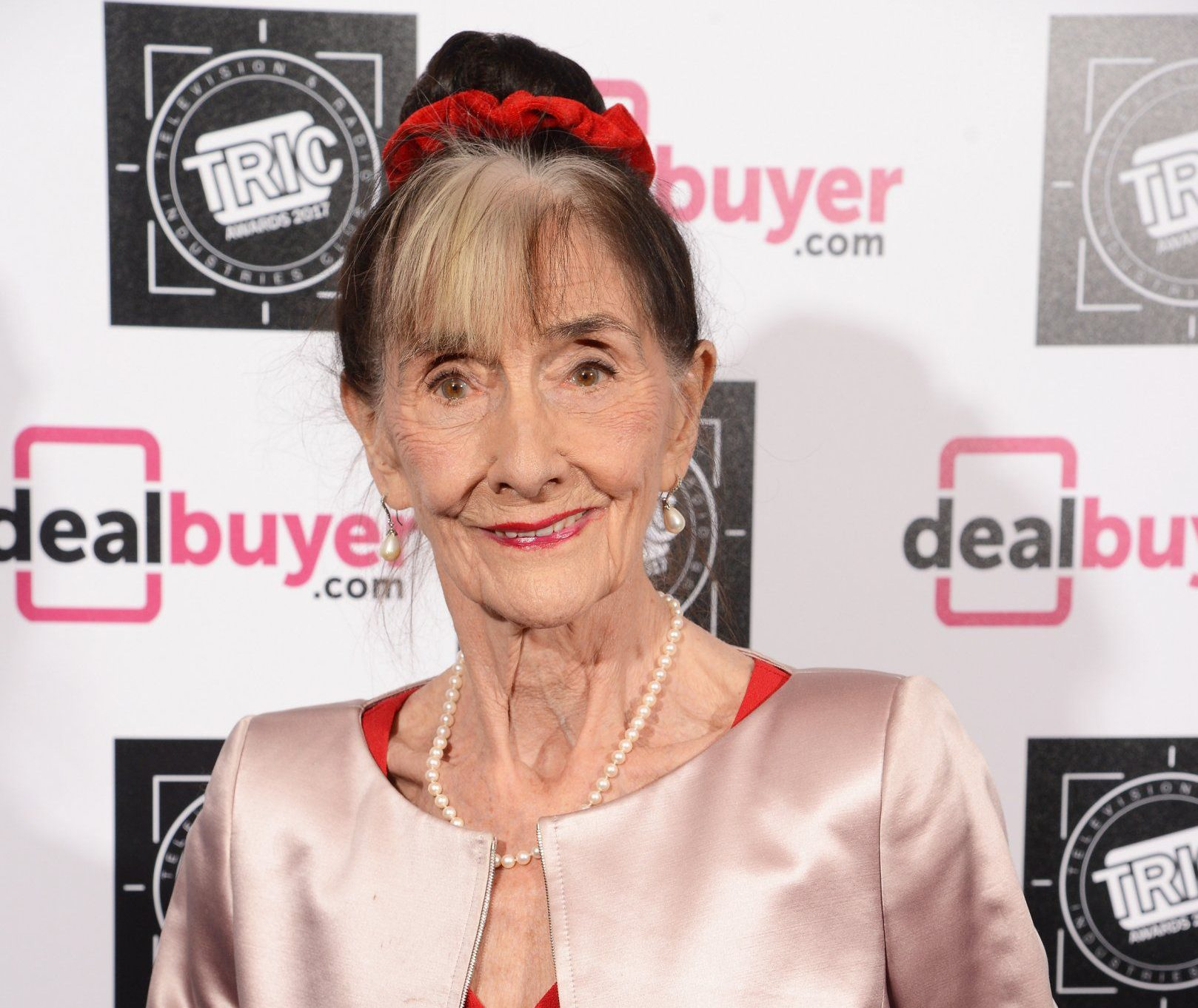 LONDON, ENGLAND - MARCH 14: June Brown attends the TRIC Awards 2017 at The Grosvenor House Hotel on March 14, 2017 in London, England. (Photo by Dave J Hogan/Getty Images)