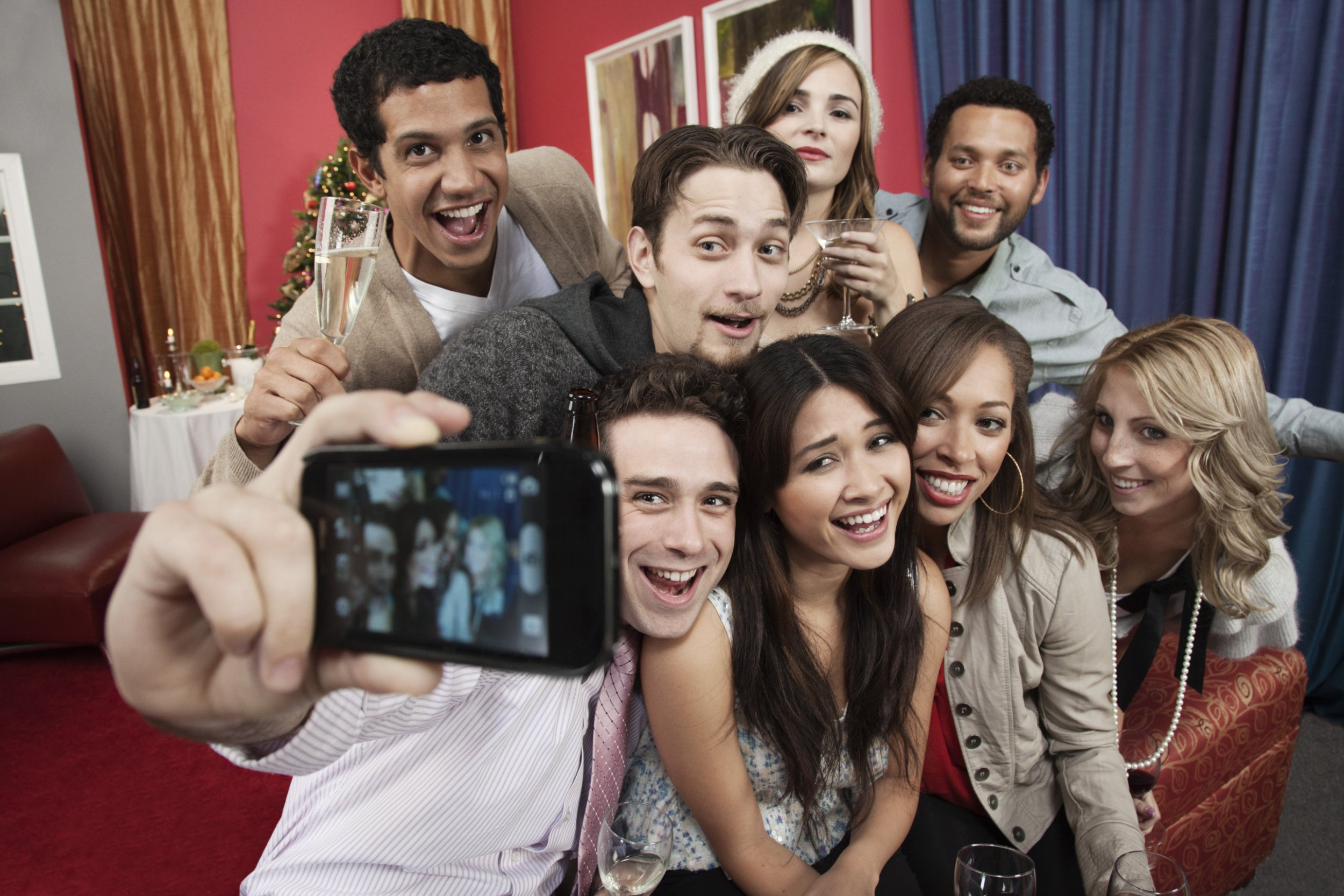 Now you can hire friends so you don't have to take selfies by yourself picture: Getty Images