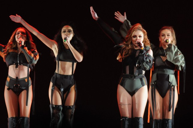 Victoria Monet and Little Mix perform at United Center in Chicago on March 14, 2017 Featuring: Little Mix Where: Chicago, Illinois, United States When: 15 Mar 2017 Credit: C.M. Wiggins/WENN.com