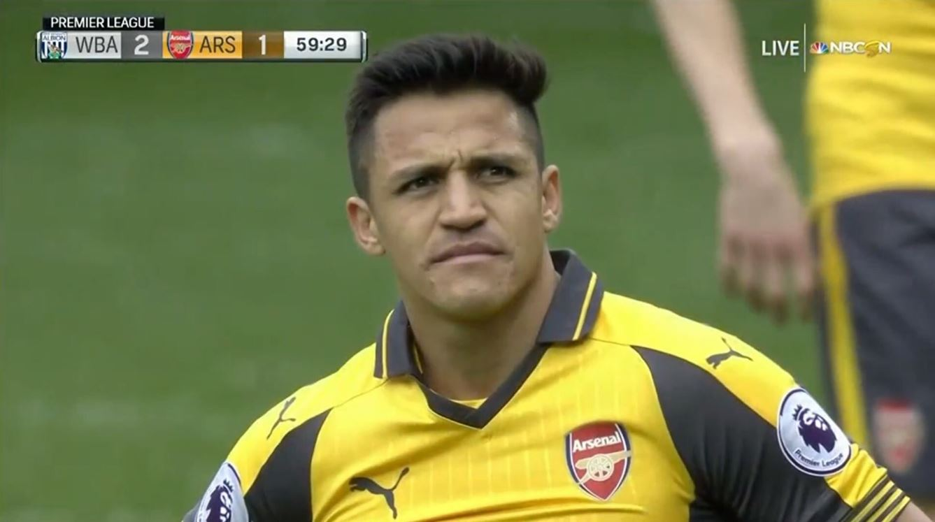 Arsenal star Alexis Sanchez astonished following David Ospina's howler against West Brom