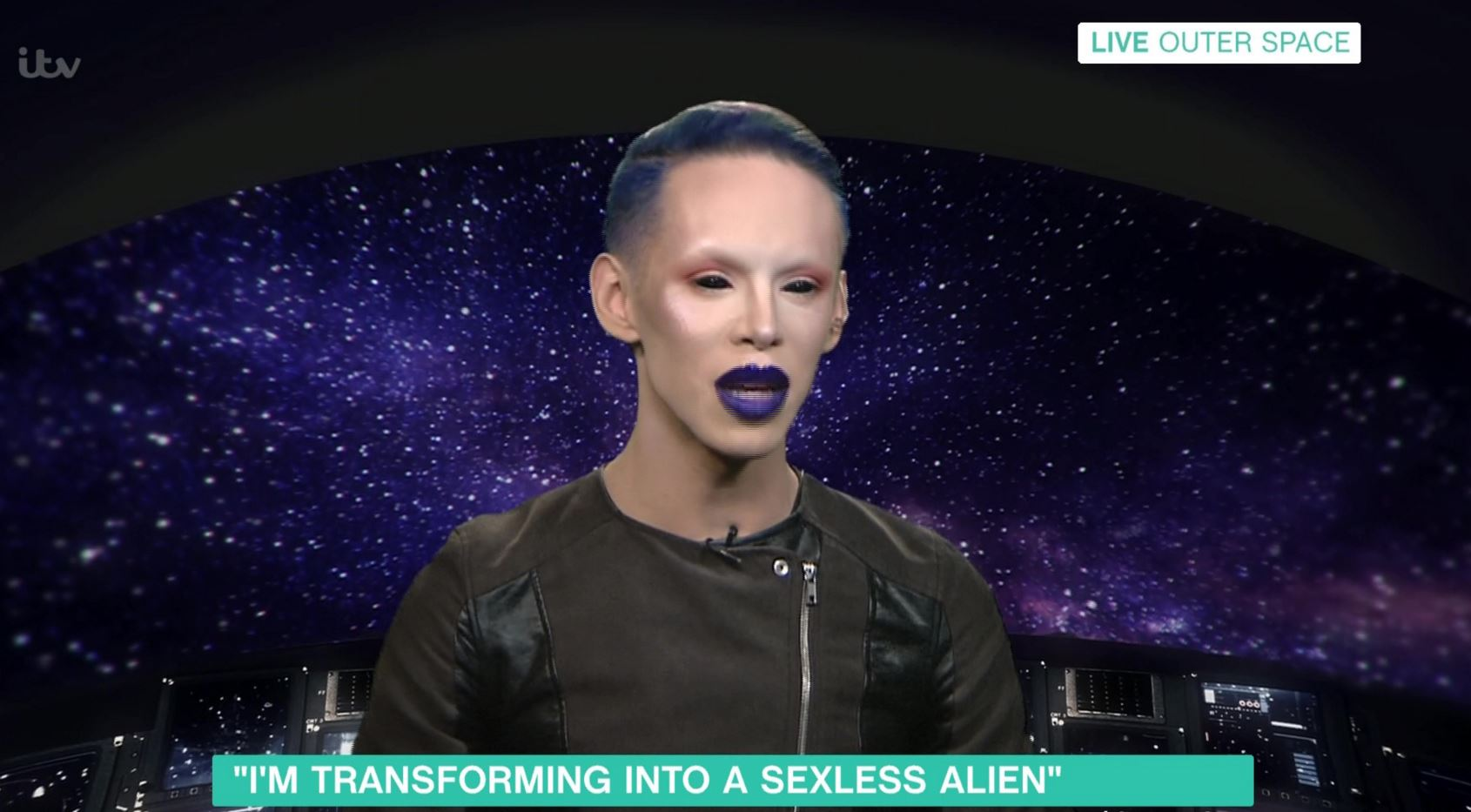 Vinny is out of this world... (Picture: ITV)