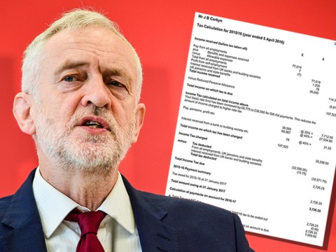 Questions raised over 'missing salary' on Corbyn's tax return