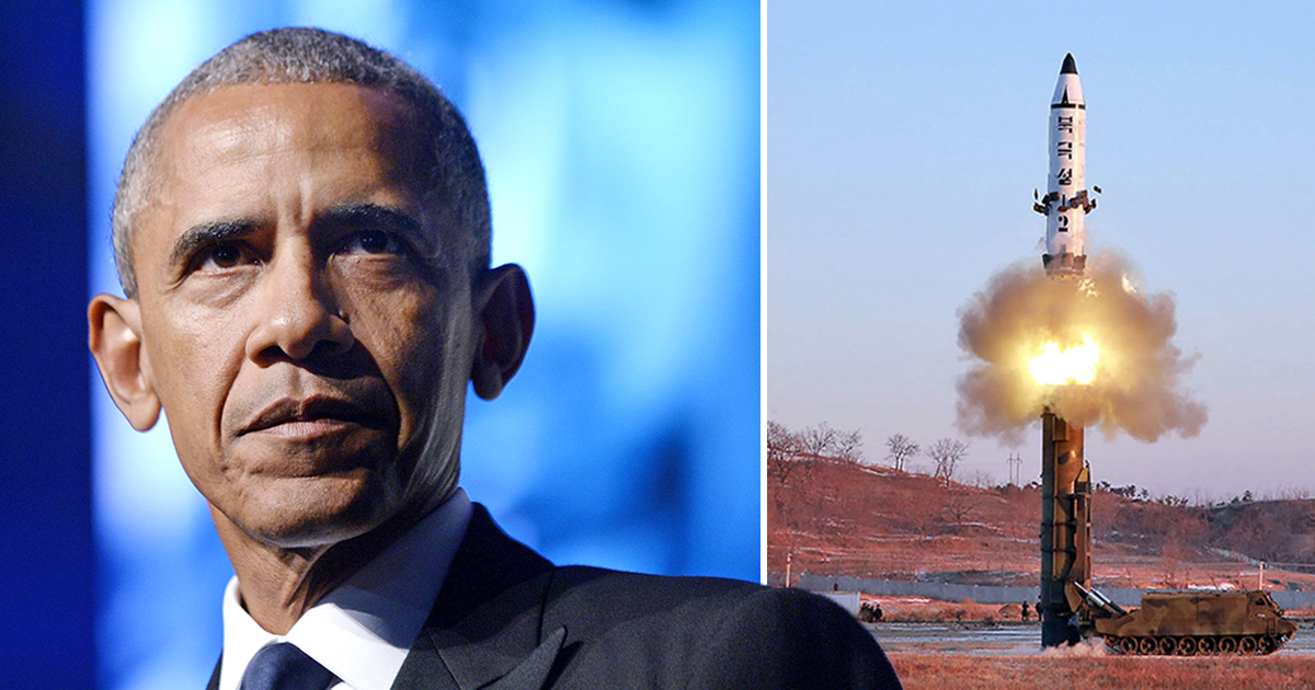 Barack Obama 'launched cyber war in attempt to sabotage North Korea's missile tests'