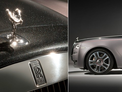 Casually get your Rolls-Royce lacquered with 1,000 real diamonds