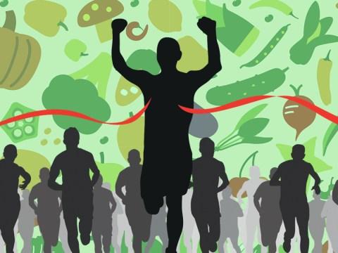 Don't think vegans can run marathons? Think again
