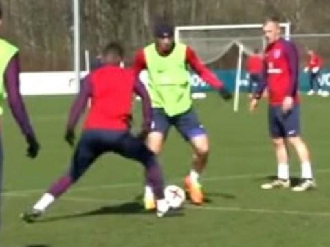 Manchester United star Marcus Rashford embarrassed by Ross Barkley in England training