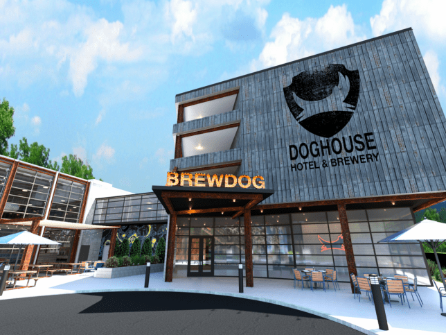 brewdog planning to open a hotel in america
