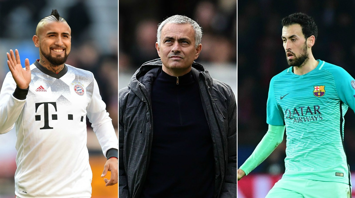 Five players in the Jose Mourinho mould who could fit his plans to restore Manchester United to greatness