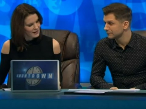 Pasha Kovalev brings out his 'phallus' as he joins girlfriend Rachel Riley on Countdown