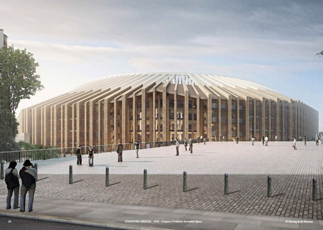 Chelsea stadium plans take big step forward - given mayoral aproval Credit: Herzog & de Meuron