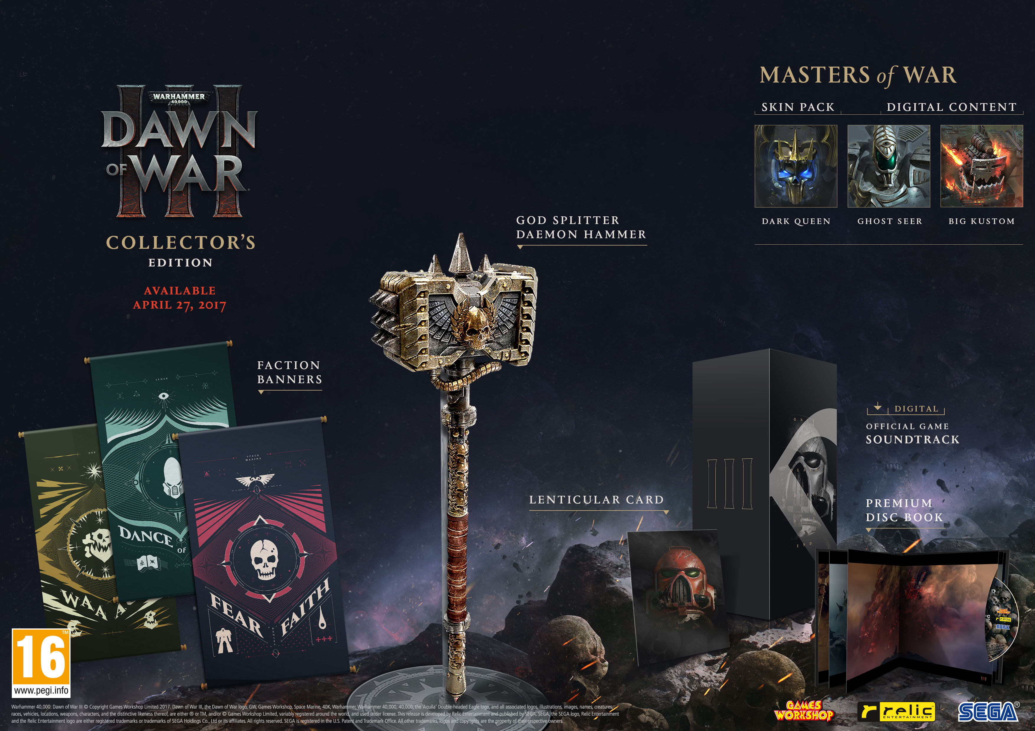 For a Collector's Edition that's actually fairly cheap