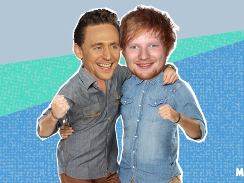 Ed Sheeran hangs out with his best friend Taylor Swift's ex Tom Hiddleston