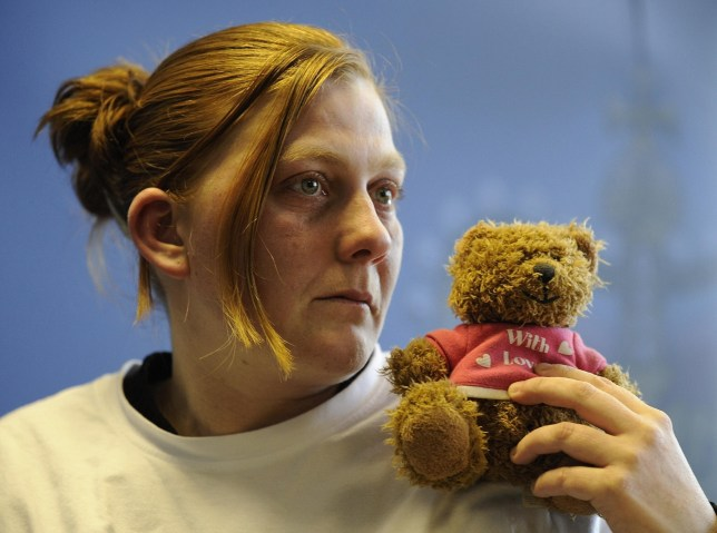 File photo dated 03/03/2008 of Karen Matthews, holding her daughter's favourite teddy bear as she made an emotional appeal for her safe return. PRESS ASSOCIATION Photo. Issue date: Thursday December 4, 2008. The mother of Shannon Matthews was found guilty today of kidnapping her own daughter. Karen Matthews, 33, of Moorside Road, Dewsbury Moor, West Yorkshire, was also convicted by a jury at Leeds Crown Court of false imprisonment and perverting the course of justice. Her co-defendant Michael Donovan, 40, was found guilty of the same offences. Nine-year-old Shannon was found in Donovan's flat in Lidgate Gardens, Batley Carr, West Yorkshire, 24 days after she went missing in February. See PA story COURTS Shannon. Photo credit should read: John Giles/PA Wire