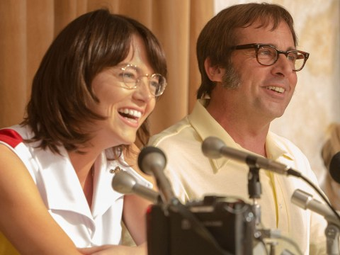 Is that Emma Stone? Check out the Oscar-winner's new look for film Battle Of The Sexes