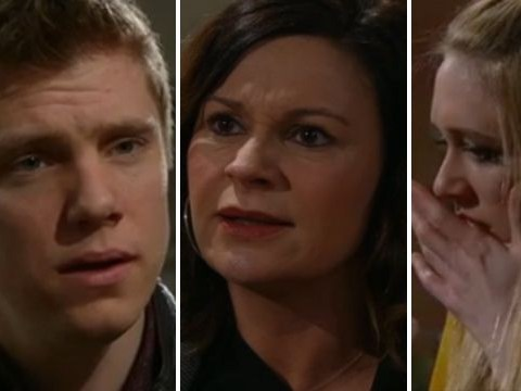 Emmerdale spoilers: All over for Robron? Chas Dingle kicks Robert Sugden out – after slapping him and Rebecca White